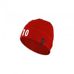 Fleecemütze  rot